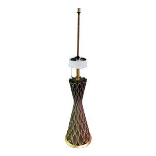 1950s Gerald Thurston Mid Century for Lightolier Lamp For Sale