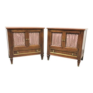 John Widdicomb Italian Style Nightstands - a Pair For Sale