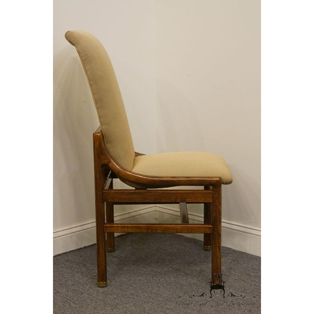 Henredon Mid-Century Modern Solid Walnut Dining / Side Chair For Sale - Image 9 of 13