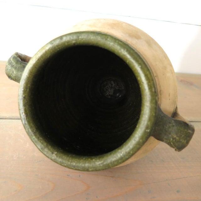 Green Glazed Teracotta Urn - Image 5 of 8