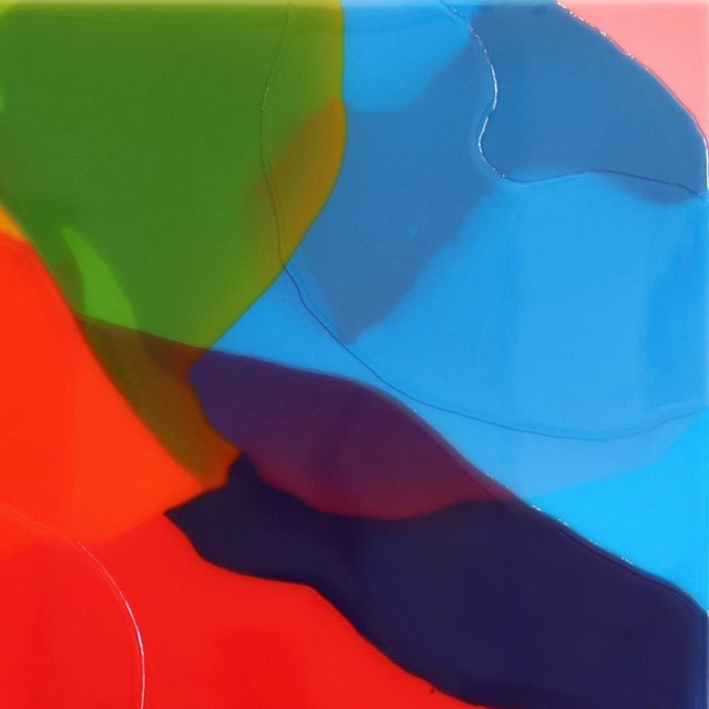 """Abstract """"Tailwind 1"""" Original Artwork by Ricky Hunt For Sale - Image 3 of 10"""