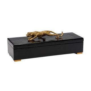 Black Cheetah Box For Sale