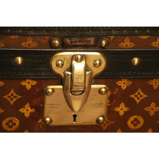 Louis Vuitton Louis Vuitton Cube Steamer Trunk For Sale - Image 4 of 13