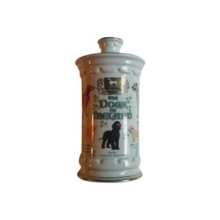 Vintage Commonwealth Whisky Bottle Dogs of Ireland