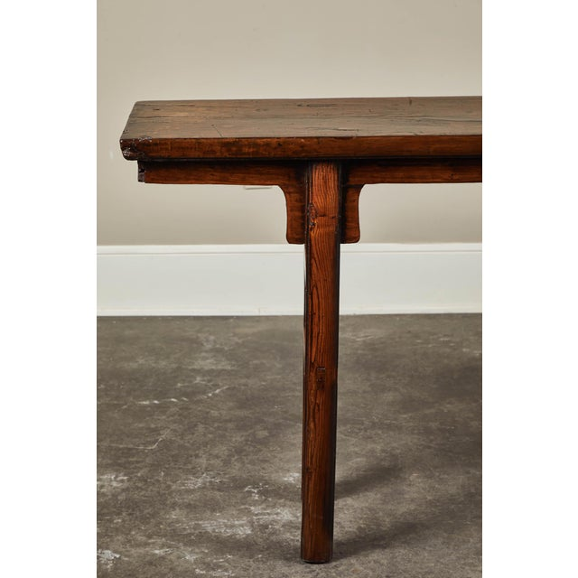 17th Century Chinese Elm and Poplar Altar Table For Sale In Los Angeles - Image 6 of 9