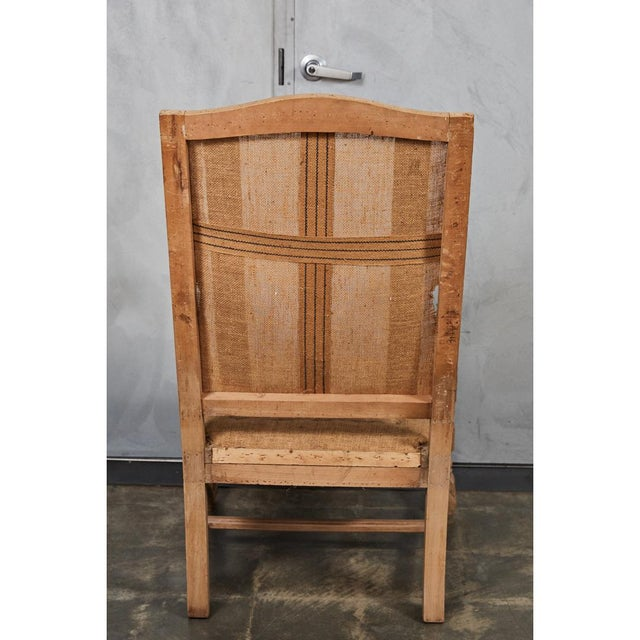 Late 19th Century Louis XVI Style Armchair For Sale - Image 5 of 9