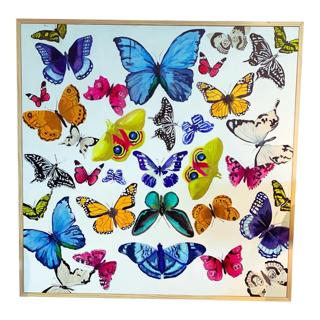 """""""Butterflies - a Collection"""" Original Painting For Sale"""