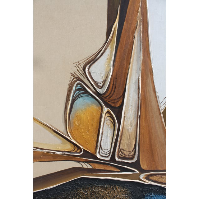 Vintage Abstract Composition by Christie For Sale - Image 5 of 11
