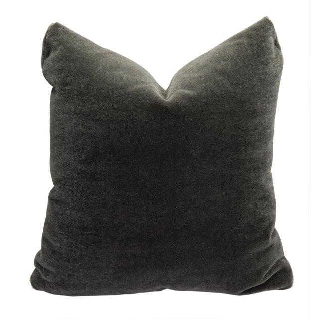 Art Deco Alpaca Mohair Pillow For Sale - Image 3 of 3
