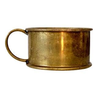 Antique Brass Bowl For Sale