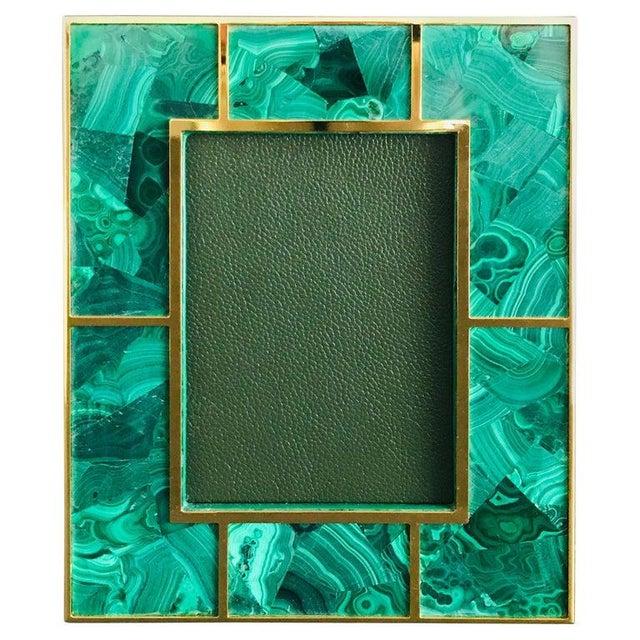 Green Malachite Photo Frame by Fabio Ltd For Sale - Image 8 of 8