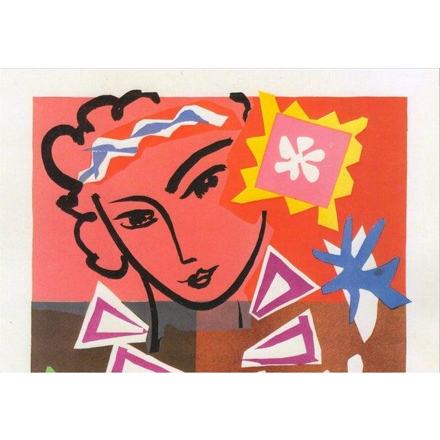 "1989 Matisse Original Vintage ""Bal Arts Decoratifs Mourlot"" Lithograph Print 1951 - Image 3 of 8"