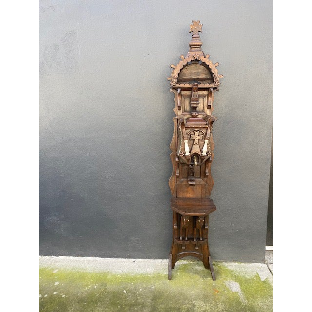 19th C. European Folk Art Sculpture /Dispenser For Sale - Image 13 of 13