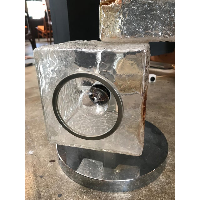 Mazzega Sculptural Six-Light Floor Lamp, Italy For Sale In Los Angeles - Image 6 of 13
