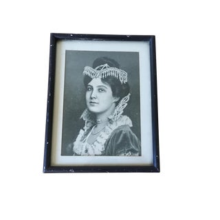 Vintage Picture of a Lady For Sale