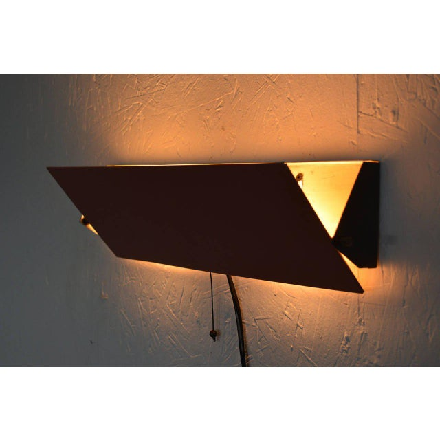 1950s Anvia Wall Sconce Light For Sale - Image 5 of 8