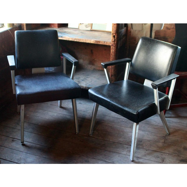 Good Form Aluminum Armchairs - A Pair - Image 2 of 5