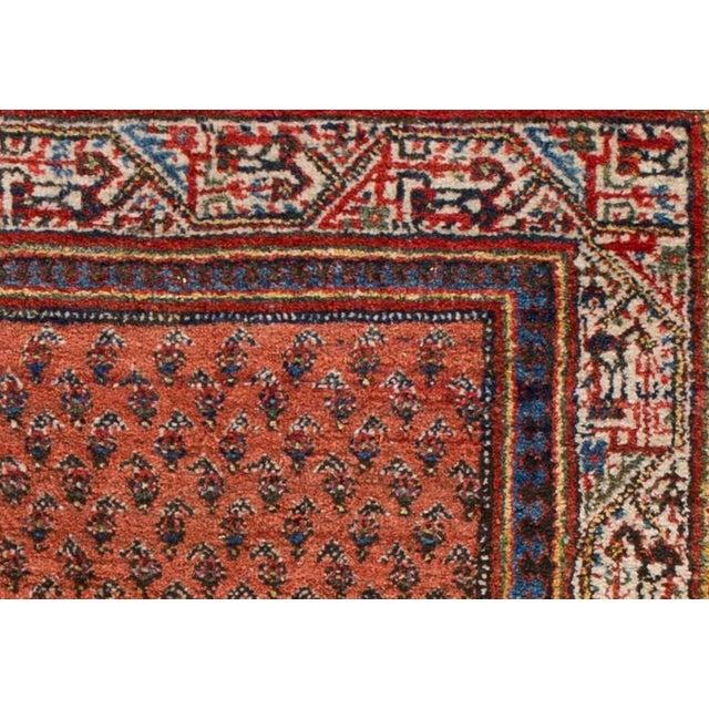 "Persian Hamadan Rug, 2'8"" x 4'5"" For Sale - Image 4 of 5"