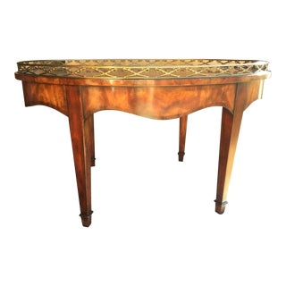 Theodore Alexander Coffee Table Earl of Spencer For Sale
