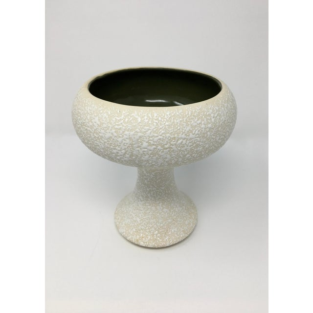 Mid-Century Modern Winter White Pottery Collection - 3 Pieces For Sale - Image 4 of 13