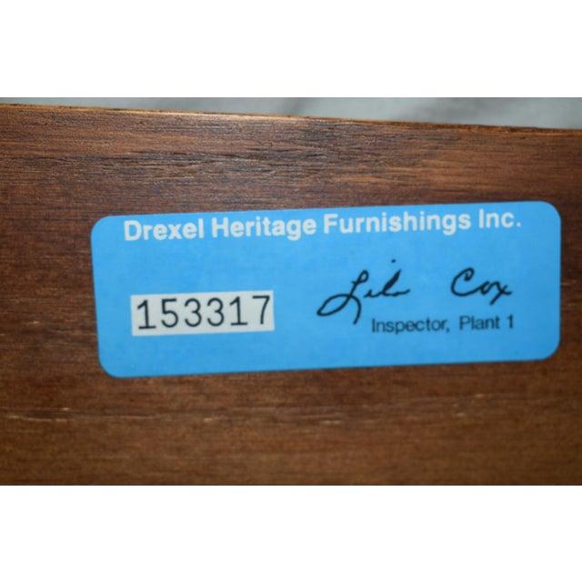 Vintage Drexel Heritage King Size Canopy Bed For Sale - Image 12 of 13