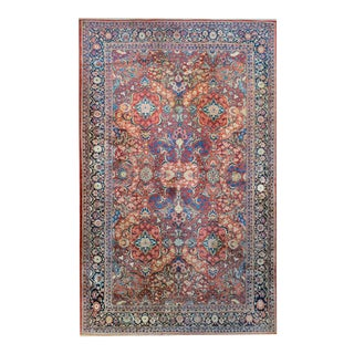 Early 20th Century Sarouk Mahal Rug For Sale