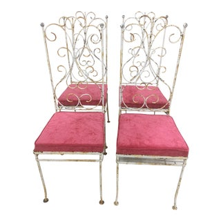 Salterini Chairs- Set of 4 For Sale
