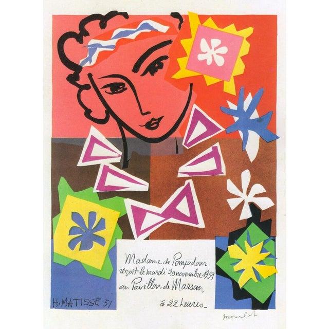 "1989 Matisse Original Vintage ""Bal Arts Decoratifs Mourlot"" Lithograph Print 1951 - Image 1 of 8"