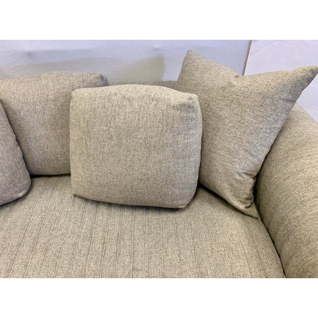 Contemporary Donghia by John Hutton Gray Sofa For Sale - Image 3 of 13