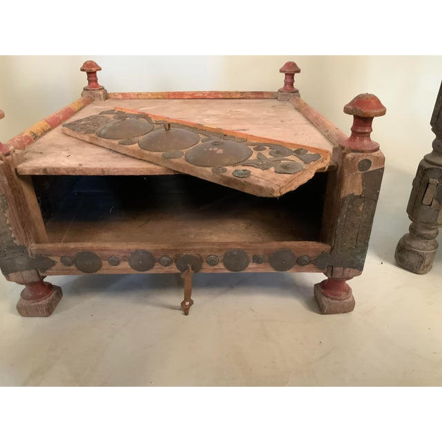 19th Century Tribal Bedouin Chairs - Set of 4 For Sale - Image 10 of 12