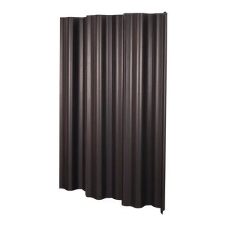Eames Ebonized Folding Wood Screen Fws-6 For Sale