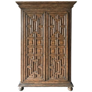 Lighter Geometric Armoire by Charles Pollock for the William Switzer Collection