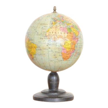 French Vintage Globe - X Small For Sale