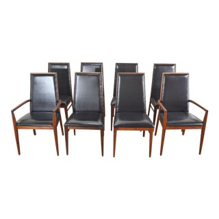 Set of 8 Mid Century Dining Chairs by DIllingham