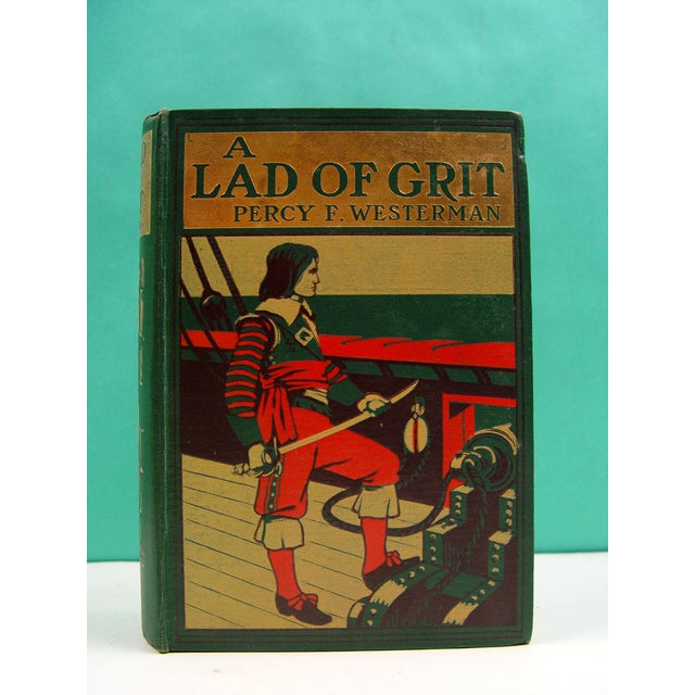 A Lad of Grit Book 1908 - Image 3 of 4