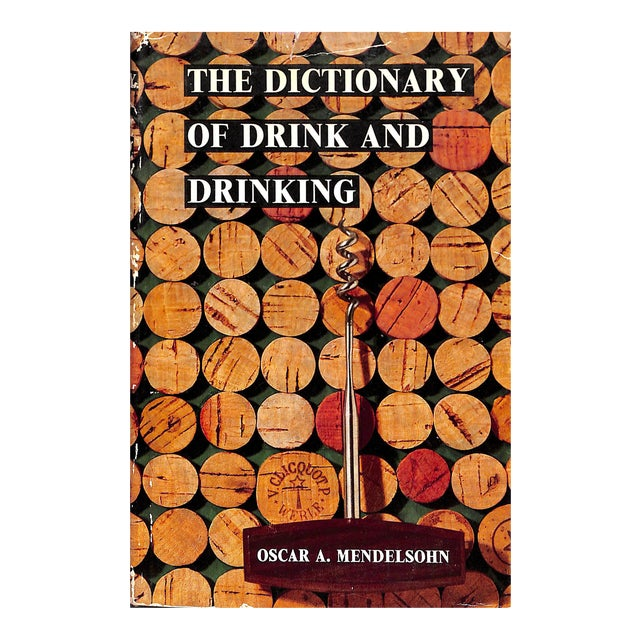 """The Dictionary of Drink and Drinking"" Cocktail Book - Image 1 of 4"
