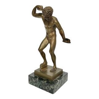 Ancient Roman Athlete Statue For Sale