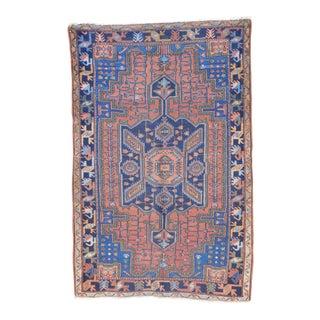 Vintage Persian Hamadan Rug - 4′6″ × 6′5″