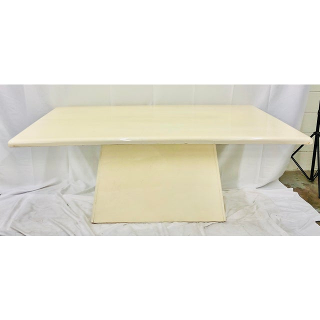 Vintage Mid Century Modern Dining Table For Sale - Image 10 of 10
