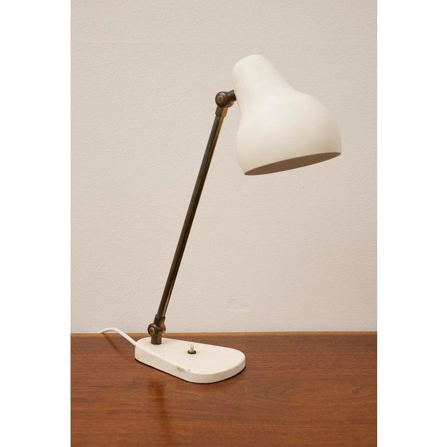 1950s Original Vilhelm Lauritzen for Louis Poulsen Table Lamp For Sale - Image 10 of 10