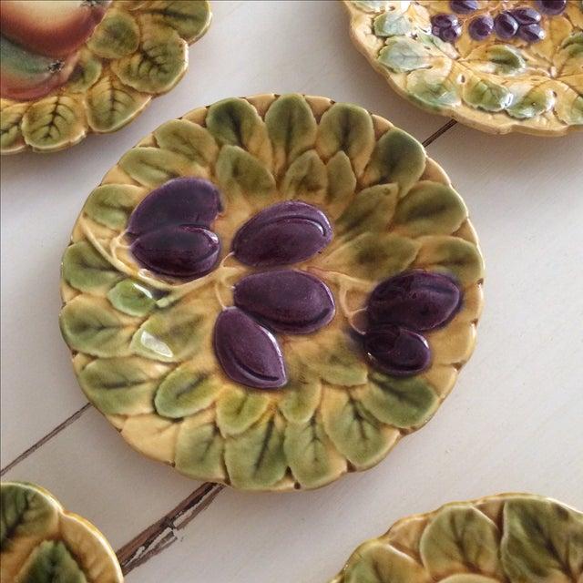 French Sarreguemines Majolica Plates - Set of 5 - Image 5 of 11