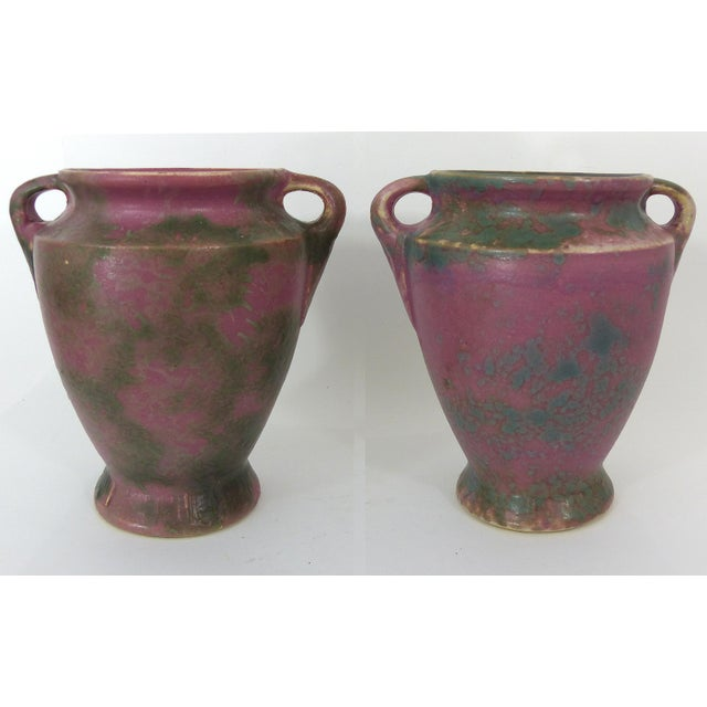 Vintage Burley-Winter Double Handled Urns - A Pair - Image 2 of 11