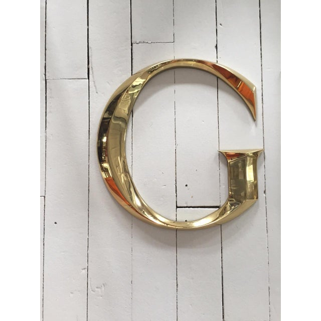 """Brass Letters Spelling """"GUCCI"""" - Image 2 of 5"""