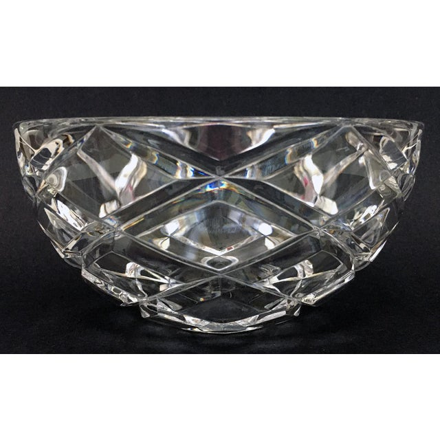 Tiffany and Co. Tiffany Diamond Cut Bowl For Sale - Image 4 of 6