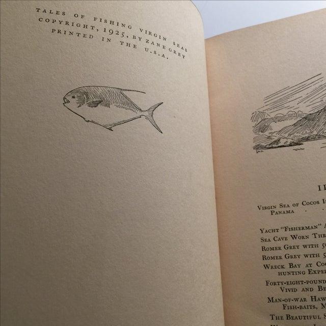 "1925 ""Tales of Fishing Virgin Seas"" by Zane Grey - Image 5 of 11"
