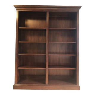 Henkel Harris Mahogany Double Bookcase For Sale