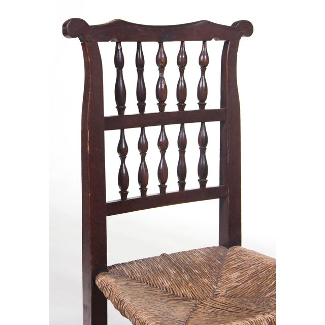 English Farmhouse Chair For Sale - Image 4 of 4