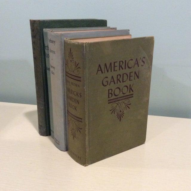 Vintage Green Book Stack - Set of 4 - Image 4 of 11