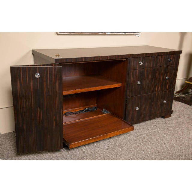 EJ Victor E.J. Victor Zebrawood Willie Chest For Sale - Image 4 of 10