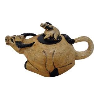 Vietnamese Stone Teapot For Sale